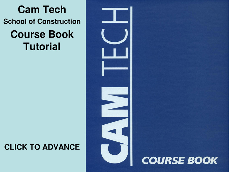 Cam Tech School of Construction: Free Licensing Information